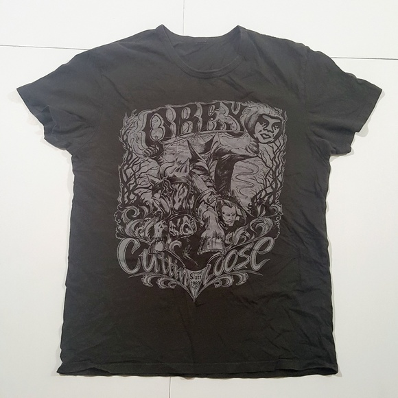 Obey Other - Obey graphic t-shirt size medium Headless Horseman